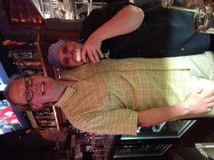 JL and ML having a taste of Goose Island Mathilda beer!
