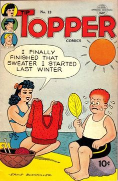 Cover for Tip Topper Comics (1949 series) #13 - Fritzi