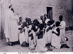 "Missionary groups such as the ""Society of the Great White Fathers"" often paved the way for European colonization of Africa by first uprooting the traditional religious faiths of the indigenous Africans."
