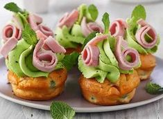 Gourmet aperitif: our chic and easy recipes Apple Recipes, Raw Food Recipes, Holiday Recipes, Gourmet Recipes, Vol Au Vent, Easter Appetizers, Yummy Appetizers, Tapas, Christmas Finger Foods