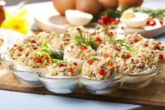 Finger Food Appetizers, Finger Foods, Appetizer Recipes, Fried Rice, Pasta Salad, Potato Salad, Recipies, Brunch, Food And Drink