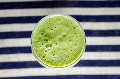Peach Green Smoothie - Bound By Food
