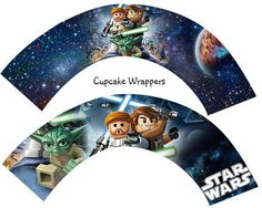free star wars cupcake wrappers - Google Search