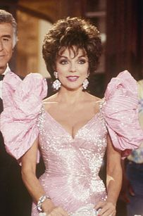 "When in doubt add some ruffles to your dress… | 19 Impeccable Style Tips From ""Dynasty's"" Alexis Carrington 80s fashion"