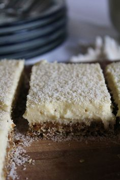 This Rawsome Vegan Life: lemon bars with coconut