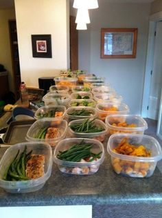 Katie is the queen of meal prepping and has an entire page dedicated to it! Meal Prep 101....some good ideas to adapt