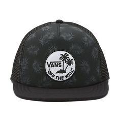 Vans Surf Patch Trucker Hat - Palm Black