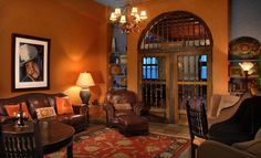 Travel Tuesday: Holland Hotel in Alpine, TX by Big Bend National park Western Furniture, Rustic Furniture, Holland Hotel, Marfa Lights, Old Western Towns, Le Far West, Great Restaurants, Stay The Night, Common Area