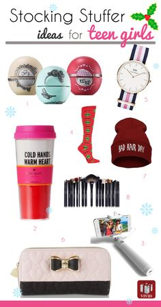 Stocking stuffers for teen girls