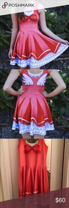 Living Dead Clothing Cardcaptor Sakura Dress Living Dead Clothing Cardcaptor Sakura Dress. Size medium. Super cute kawaii cosplay dress. Worn once. Stretchy soft silky material. Similar to Blackmilk. SOLD out online. Australian brand Blackmilk Dresses Mini