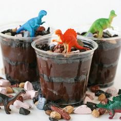 Dino Dirt Cups