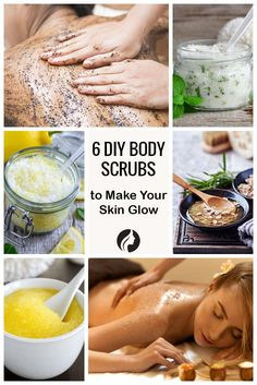 DIY Body Scrubs That Will Make Your Skin Glow ★ See more: http://glaminati.com/simple-diy-body-scrubs/