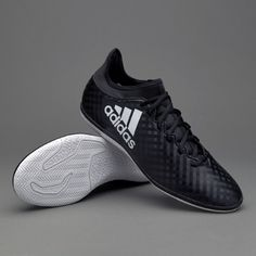 4f054e7cb adidas X 16.3 IN - Core Black White Core Black. Futsal ShoesFootball ...