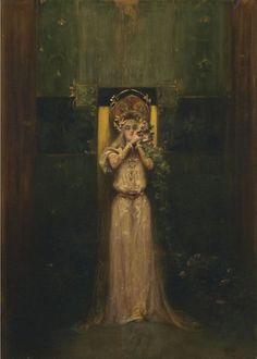 Dido of Carthage — silenceforthesoul: Alphonse Mucha - Flora, 1892