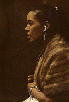 Billie Holiday by Jay Maisel (everything except the fur is gorgeous)