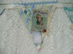 Vintage Beach Banner