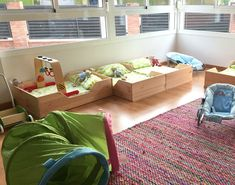 Cama Montessori Kutuva en Escuela Montessori Cambrils
