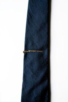 Tough guy rifle tie clip.