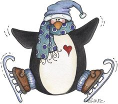 penguins pasttime by Laurie furnell - carmen freer - Picasa Web Albums Christmas Graphics, Christmas Clipart, 1st Christmas, Christmas Images, Christmas Drawing, Christmas Paintings, Penguin Clipart, Winter Clipart, Winter Illustration