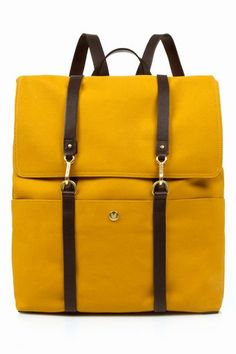 MISMO BACKPACK - CURRY/BROWN - MEN - BAGS