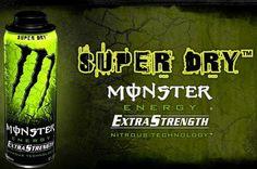 Monster Energy Extra Strength - Super Dry