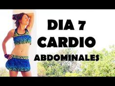 Cardio intenso para quemar - día 7 Abdominales - YouTube