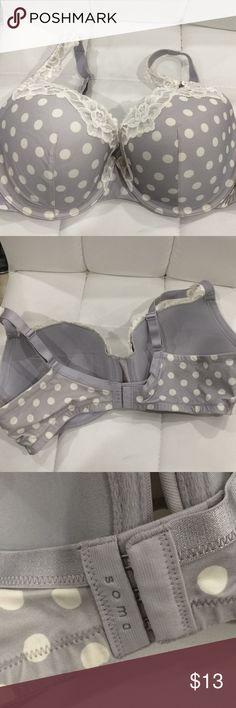 Soma Addison Bra 38DD Soma Addison Bra 38DD.  Very gently worn. Soma Intimates & Sleepwear Bras