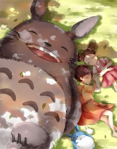 Totoro - Halcyon Days by *Illycia on deviantART