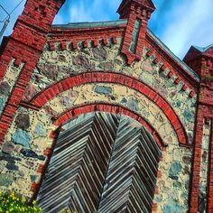 Rakvere, old architrcture, Estonia