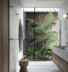 Target Home Decor, Cheap Home Decor, Indoor Outdoor, Indoor Pools, Backyard Pools, Pool Decks, Pool Landscaping, Suite Principal, Japanese Interior Design