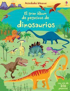 El Gran Álbum De Pegatinas De Dinosaurios: Amazon.es: Vv.Aa.: Libros