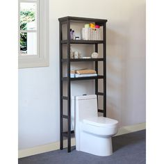"""Jeco Inc. 27.56"""" x 70.8"""" Free Standing Over the Toliet & Reviews 