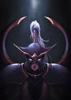 Warcraft - Maiev Shadowsong by mythgarnets.deviantart.com on @DeviantArt