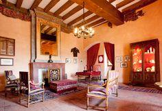 Le Rivau Castle - Joan of Arc's hall