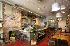 P.S. & Co. a new, organic cafe set to open its flagship store, designed by Groundswell Design Group, in the Rittenhouse neighborhood (1706 Locust Street).