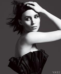 Rooney Mara for Vogue USA Nov.2011