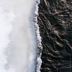 #minimalism #nature #ice #ground