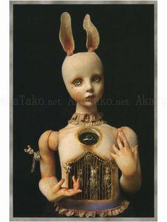 "from ""Miracle"" by Mari Shimizu Creepy Art, Creepy Dolls, Painting Inspiration, Art Inspo, Art Sinistre, Art Japonais, Arte Horror, Doll Repaint, Bjd Dolls"