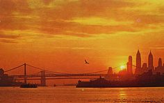New York City Sunset Backgrounds For Desktop Computers Free Wallpaper