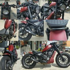 """22 mentions J'aime, 1 commentaires - KD Project Racing (@keng_kd_project_racing) sur Instagram : """"ลูกค้าจัดไปสเต็ปแรก HONDA REBEL500 Custom By KD PROJECT RACING. -…"""""""