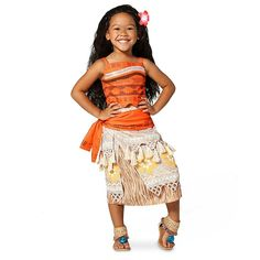Moana costume! Perfect for the birthday girl to wear on her special day!