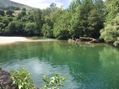 Pescando en el #río Cares, #Asturias.Fishing on the #River Cares, #Asturias