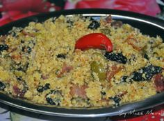 Portuguese Recipes, Bruschetta, Carne, Macaroni And Cheese, Side Dishes, Food And Drink, Rice, Yummy Food, Meals
