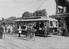 Testing the First Electric Tramcar in Adelaide 23rd December 1908