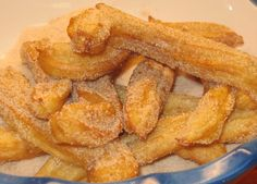EASY CHURROS  (quick, easy and inexpensive...the real deal) posted by Coleen's Recipes