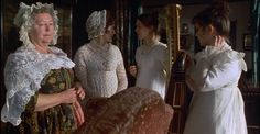 Mary Musgrove offers to play the piano but nobody wants to hear it. Her sisters-in-law politely try to persuade Mary to dance instead. From the 1995 film, Persuasion starring Amanda Root and Ciarán Hinds.