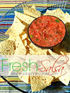 Recently became addicted to fresh salsa on wheat thin crackers so i can't wait to try this!!!