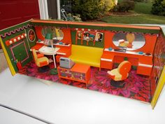 1960's Modella of Germany Dollhouse Furniture Lot Beauty Parlor | eBay