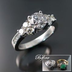 Restyle your wedding ring
