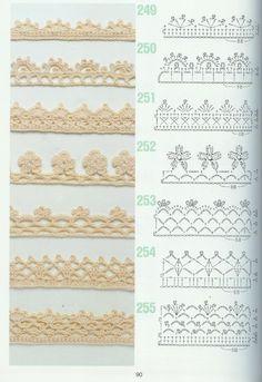 Tığ İşi Dantel Havlu Kenarı Örnekleri 55 - Mimuu.com